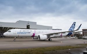 Airbus Rolls Out First A321neo ACF airliner