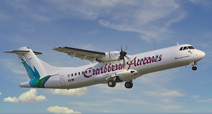 ATR-72-600 of Caribbean Airlines