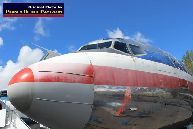 Boeing 727-223, N874AA in American Airlines livery, on display at the Museum of Flight, Seattle, Washington