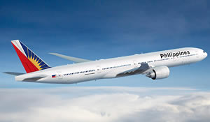 Boeing 777-300ER of Phillipines Airlines