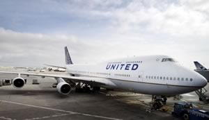 United Airlines Boeing 747 being retired in 2017
