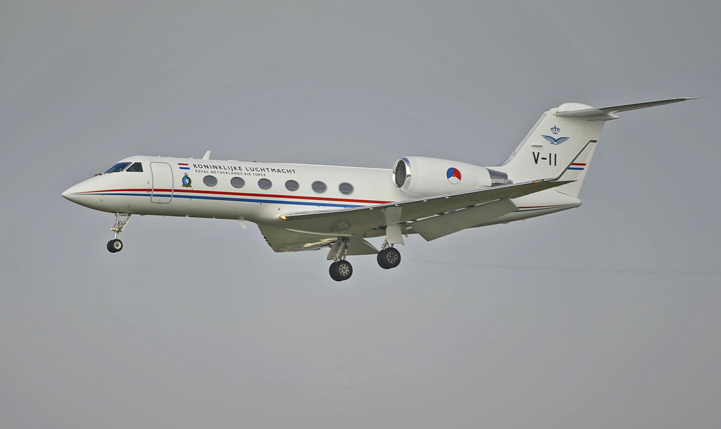 Gulfstream IV, V-11, of the Royal Netherlands Air Force