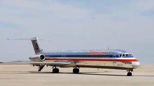 American Airlines MD-80 facing retirement in 2017