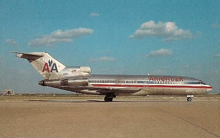 American Airlines Boeing 727