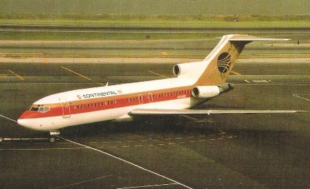 Continental Air Lines Boeing 727