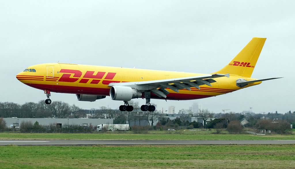 DHL Airbus A310 freighter
