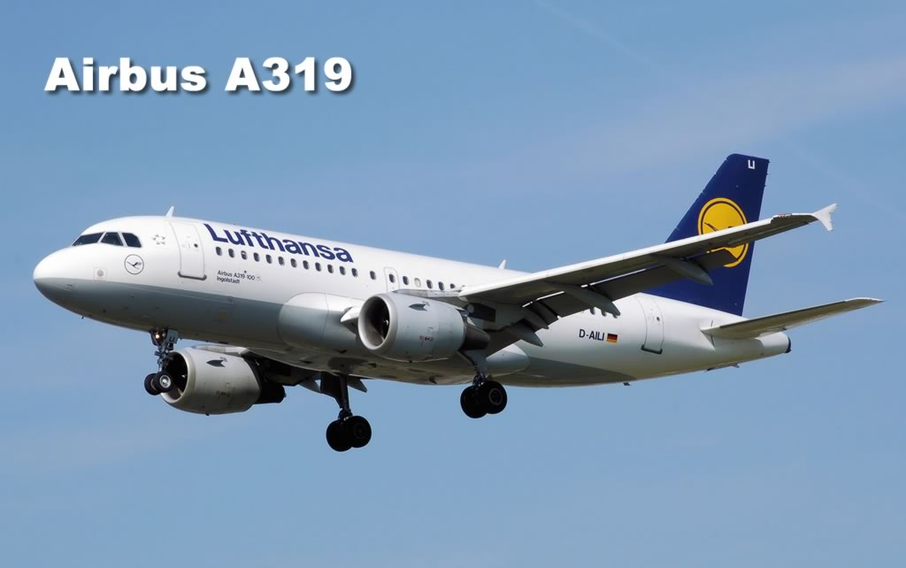 Airbus A319-100 of Lufthansa Airlines