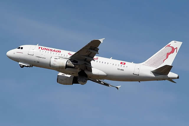 TunisAir Airbus A319-114, Registration No. T-SIMO