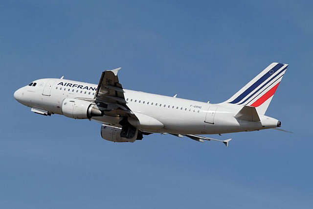 Air France Airbus A319, Registration No. F-GRHG