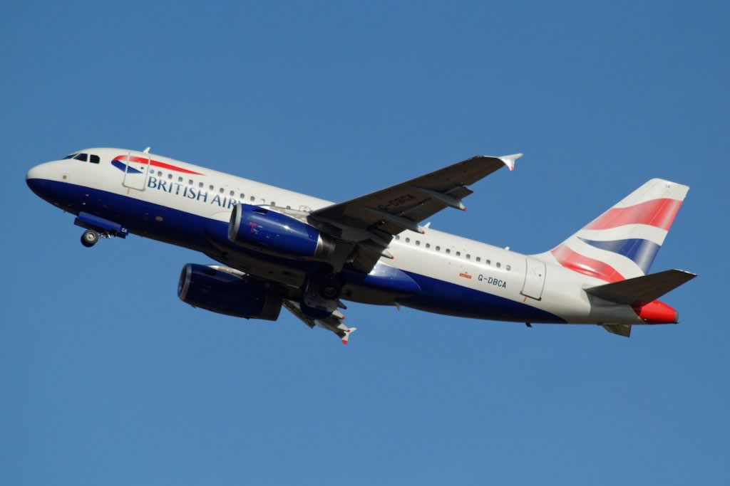 British Airways Airbus A319, Registration No. G-DBCA