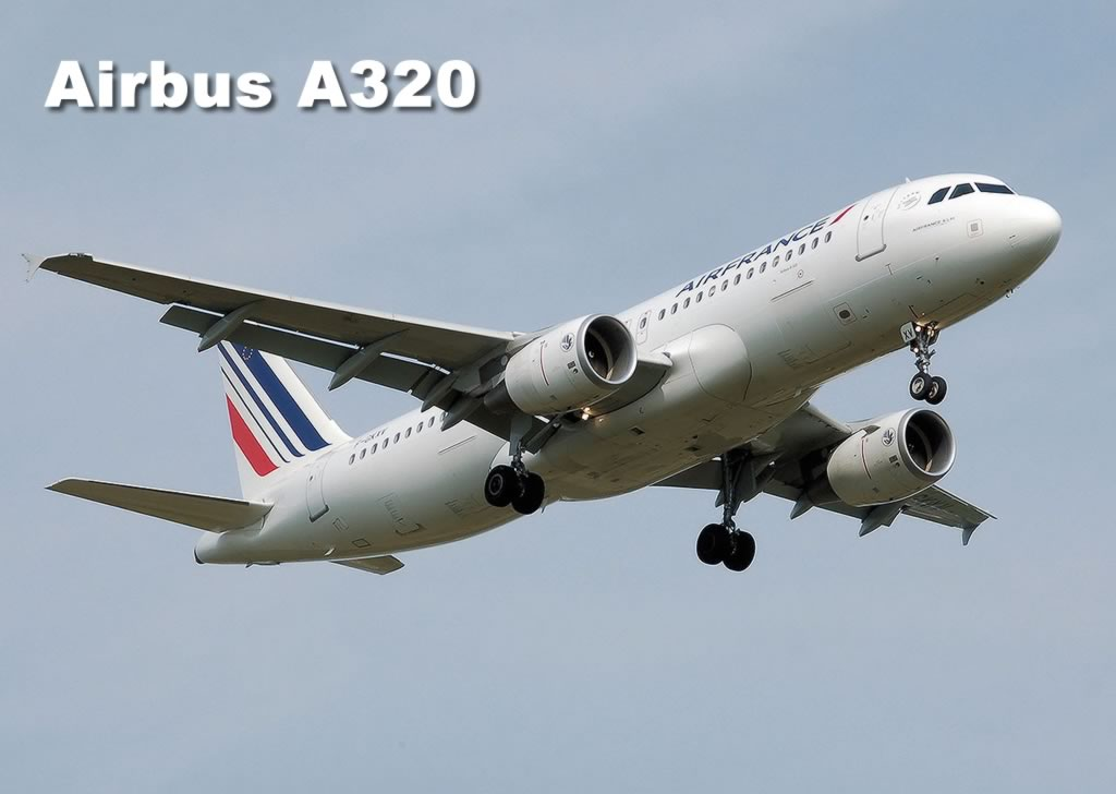 Spotting guide for Airbus airliners