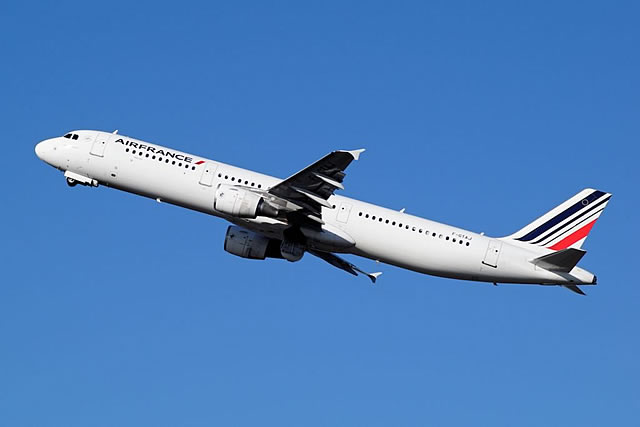 Air France Airbus A321, Registration F-GTAJ