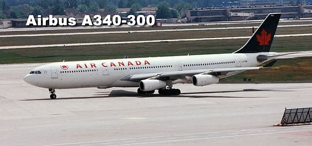 Airbus A340-313 of Air Canada