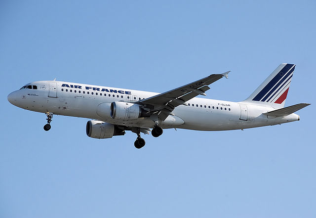 Air France Airbus A320-214, Registration F-GLGM