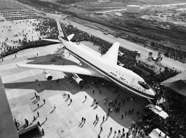 Boeing 747 Rollout
