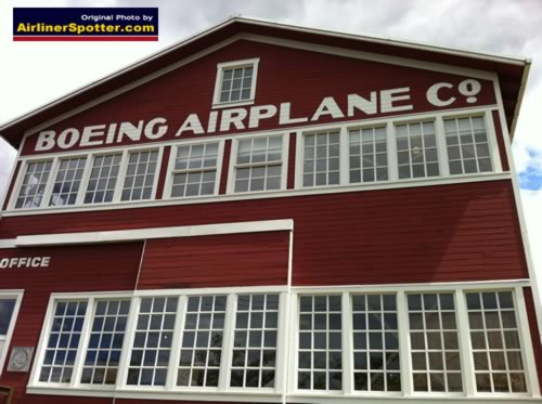 Where it all started ... The Boeing Airplane Company, Seattle, Washington