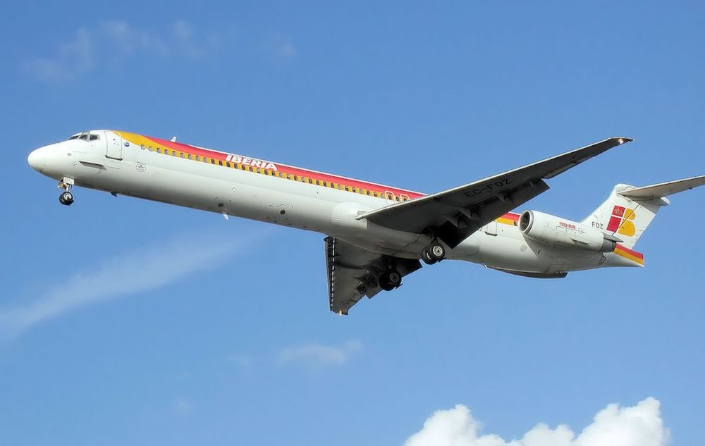 McDonnell-Douglas MD-88 of Iberia Airlines