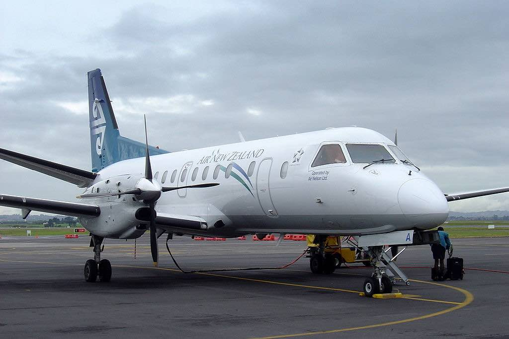 Saab 340 of Air New Zealand